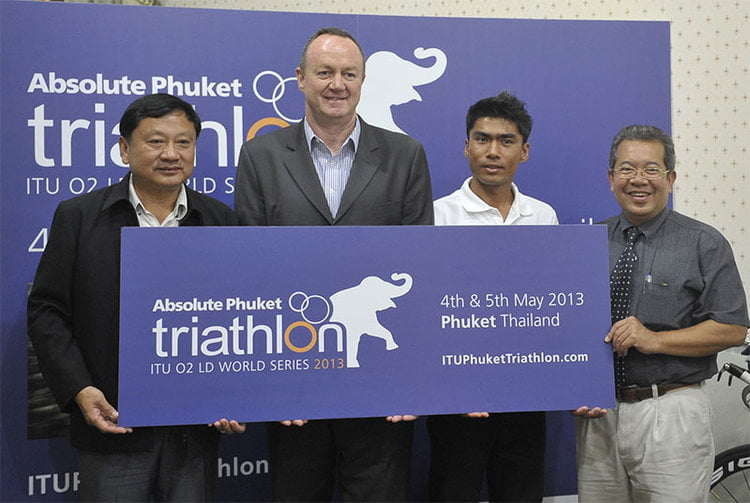 Phuket Long Distance Triathlon Series to debut in May 2013